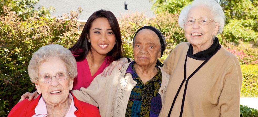 Filipina-Caregiver-With-Ladies